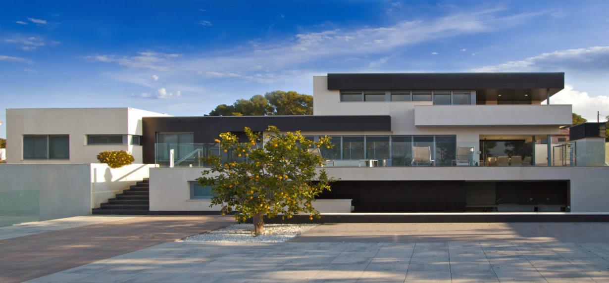 01 casa san antonio mas millet arquitectura interiorismo chalet vivienda unifamiliar moderna valencia diseño interior arquitecto