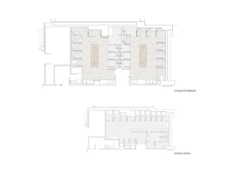 06 vestuarios guadalaviar Mas millet arquitectura interiorismo arquitecto reforma vestuario espacio docente valencia