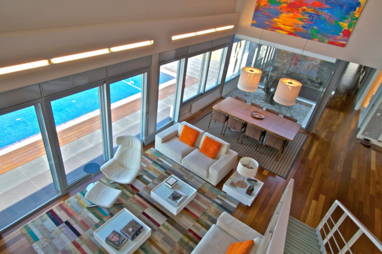 Mas millet arquitectura interiorismo obra nueva chalet vivienda unifamiliar moderna valencia diseño interior mobiliario arquitecto minima