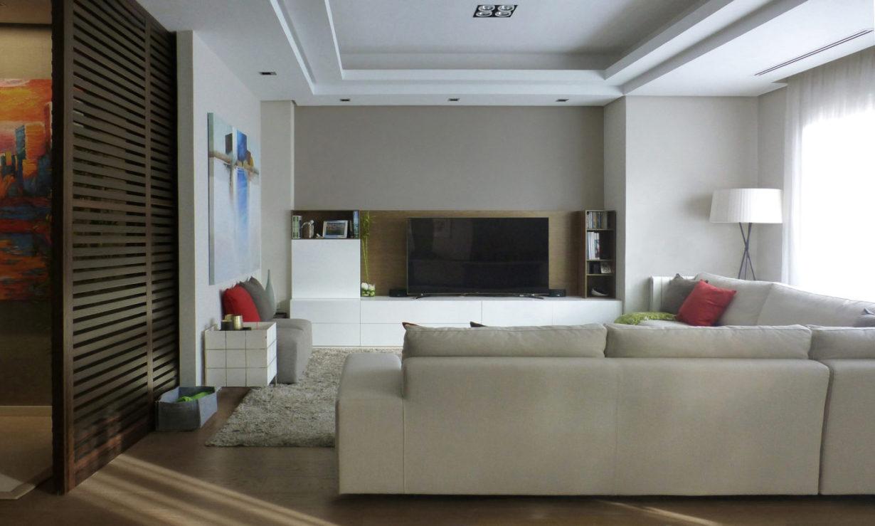 Mas millet arquitectura e interiorismo reforma piso valencia salón