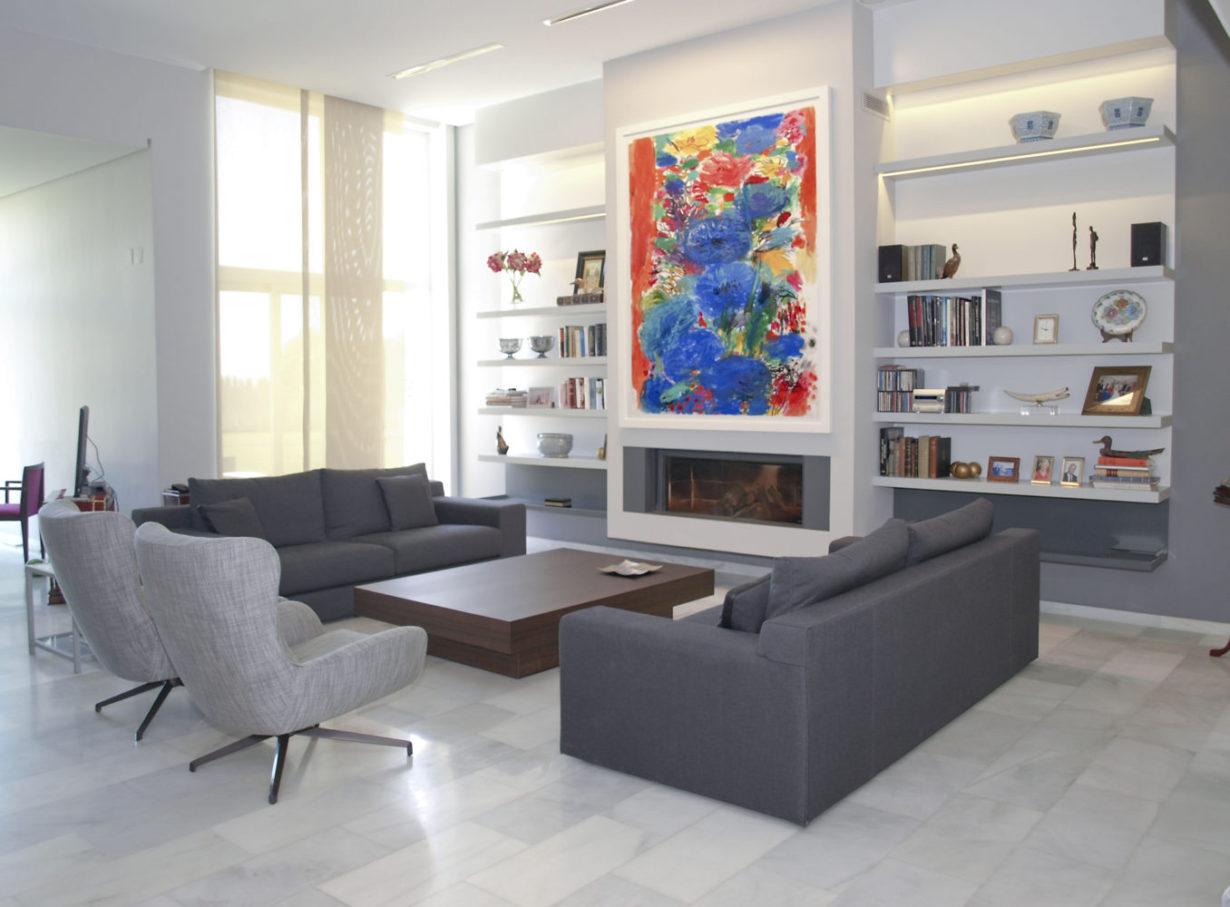 06 casa nueva santa barbara mas millet arquitectura interiorismo obra nueva chalet vivienda unifamiliar moderna valencia diseño mobiliario