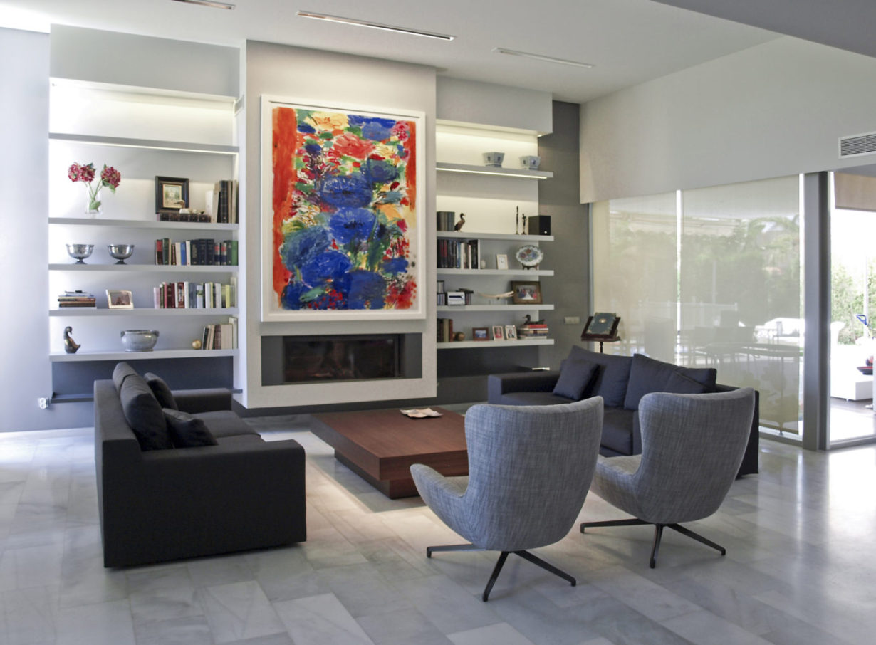 07 casa nueva santa barbara mas millet arquitectura interiorismo obra nueva chalet vivienda unifamiliar moderna valencia diseño mobiliario