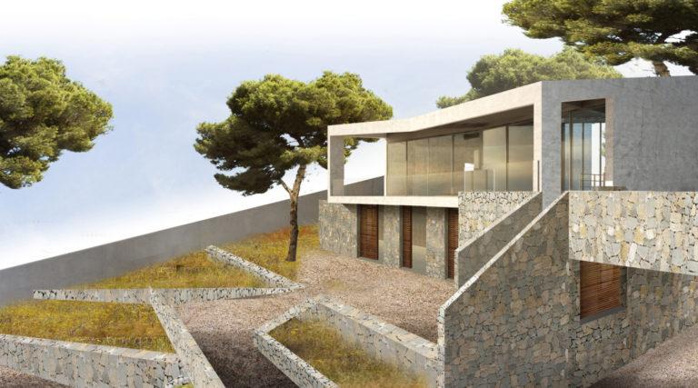 00 casa calicanto mas millet arquitecto arquitectura interiorismo valencia vivienda chalet moderna minimalista hormigon