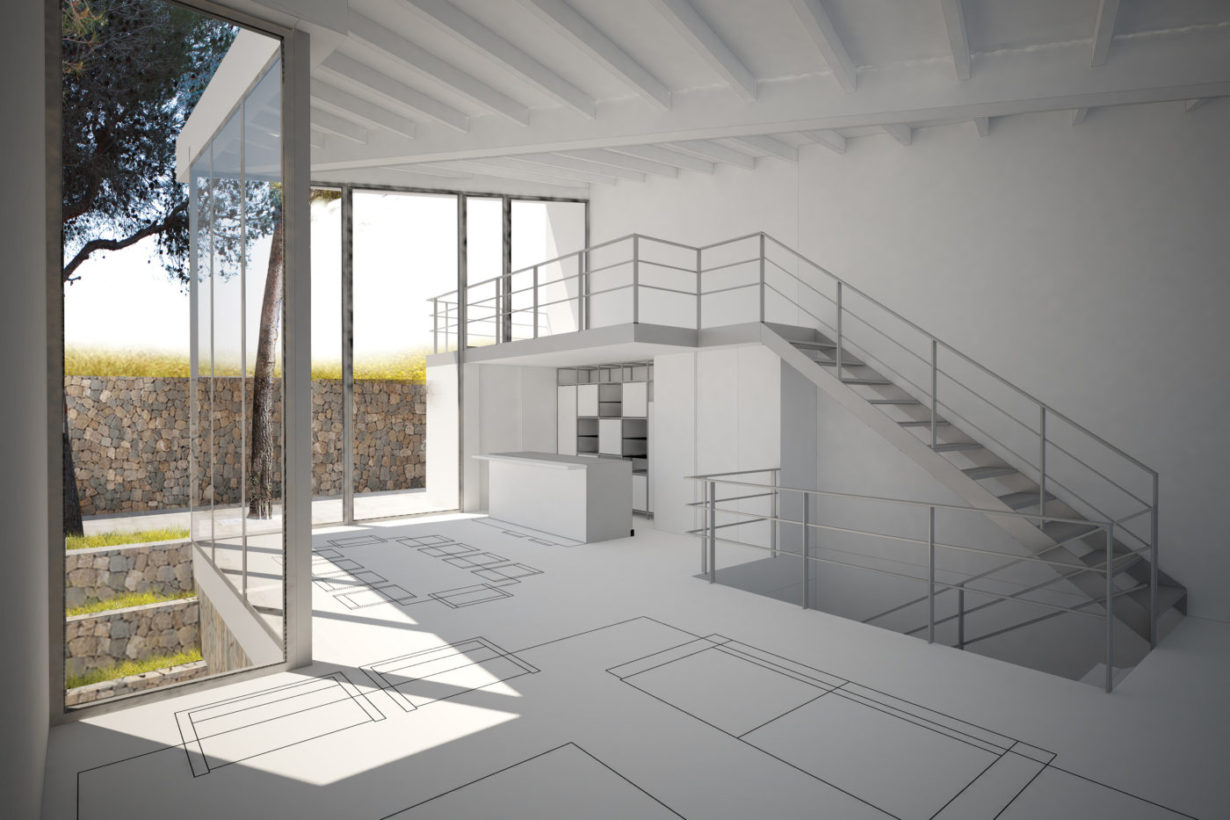 01 casa calicanto mas millet arquitecto arquitectura interiorismo valencia vivienda chalet moderna minimalista industrial