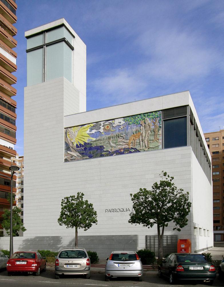 01 parroquia espiritu santo mas millet arquitectura interiorismo arquitecto valencia espacio religioso