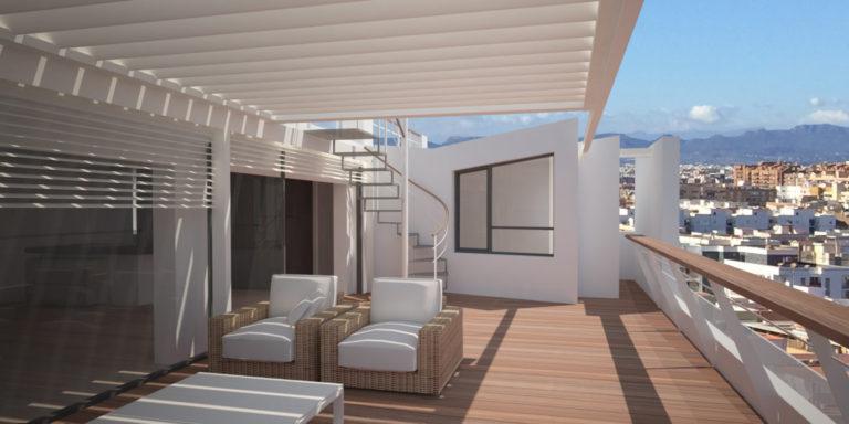 02 atico manuel candela mas millet arquitectura interiorismo arquitecto valencia reforma terraza