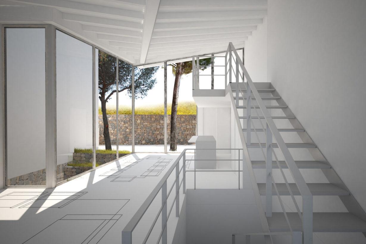 02 casa calicanto mas millet arquitecto arquitectura interiorismo valencia vivienda chalet moderna minimalista industrial