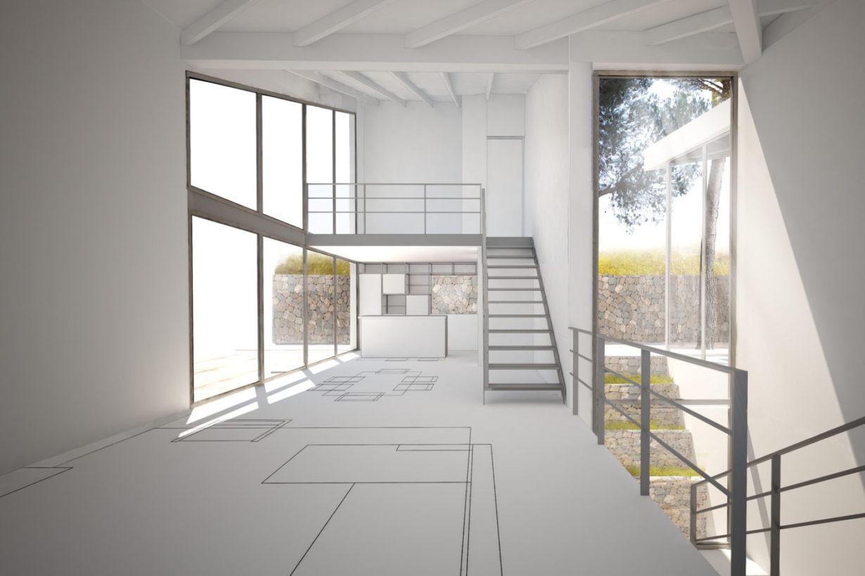 03 casa calicanto mas millet arquitecto arquitectura interiorismo valencia vivienda chalet moderna minimalista industrial