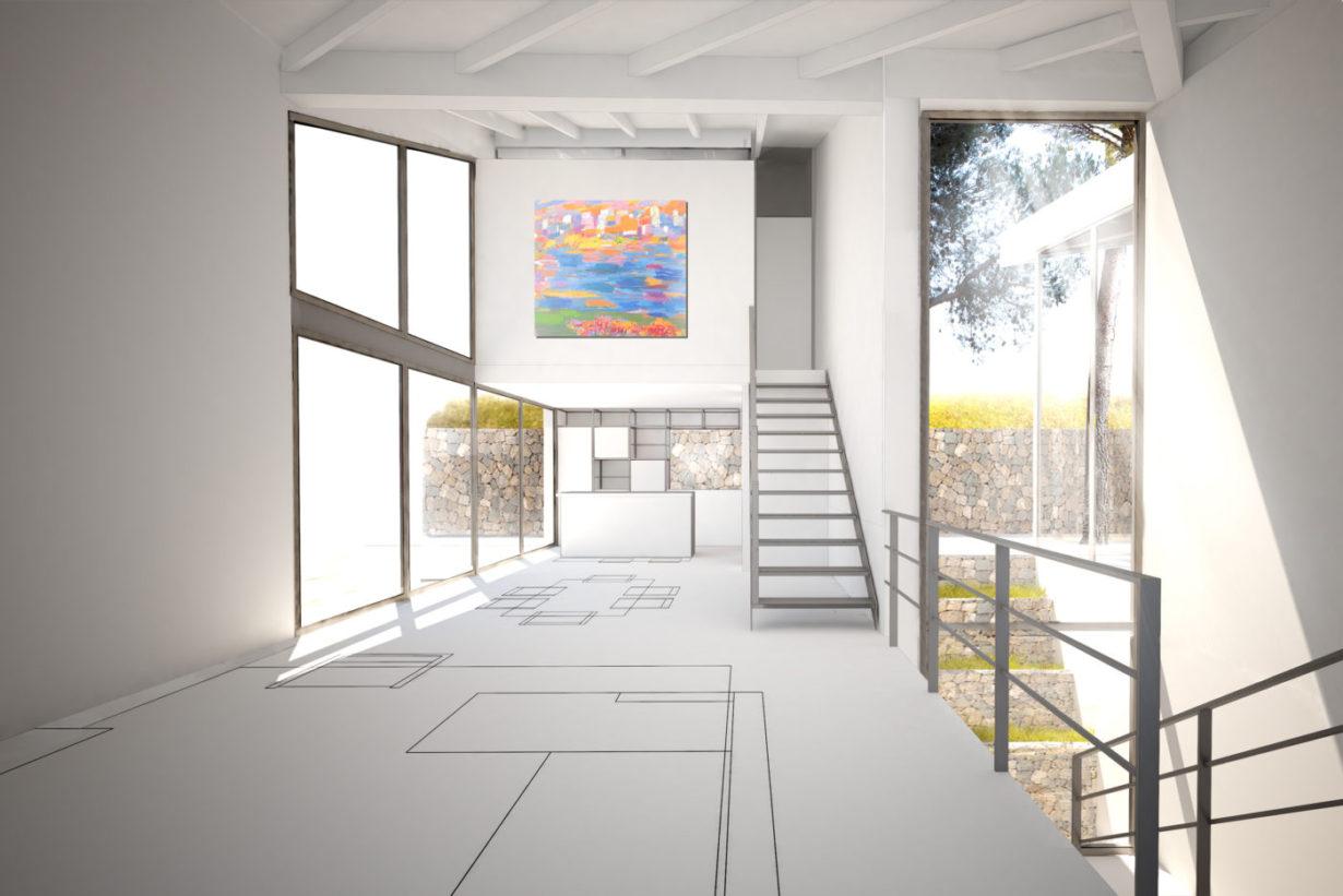 04 casa calicanto mas millet arquitecto arquitectura interiorismo valencia vivienda chalet moderna minimalista industrial