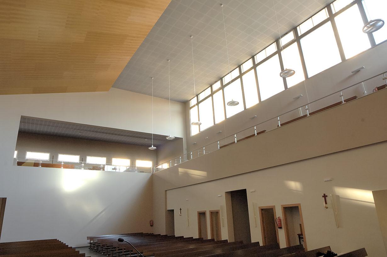 05 parroquia espiritu santo mas millet arquitectura interiorismo arquitecto valencia espacio religioso