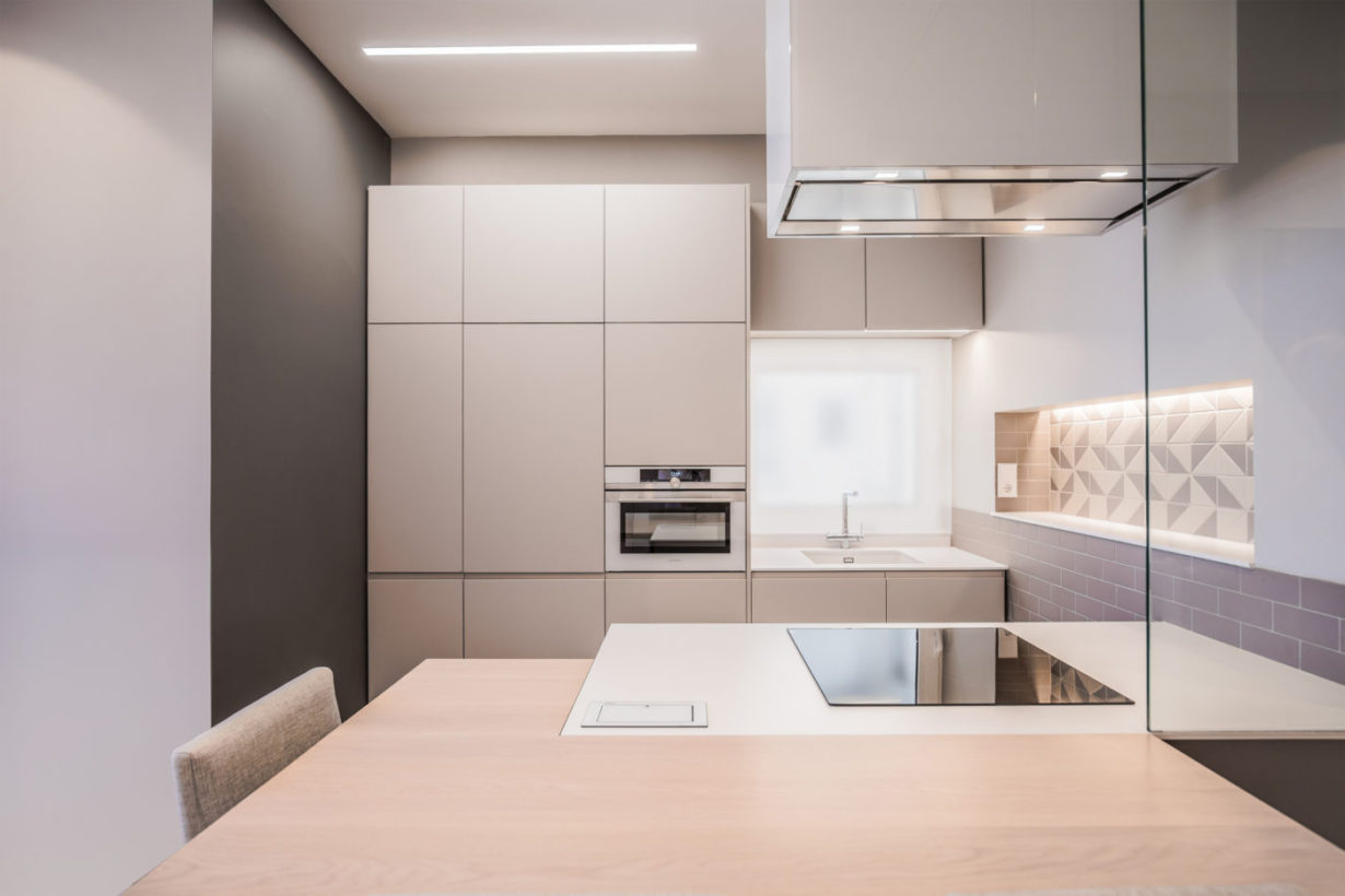 07 mas millet arquitecto arquitectura interiorismo reforma integral moderna piso valencia mobiliario salon cocina