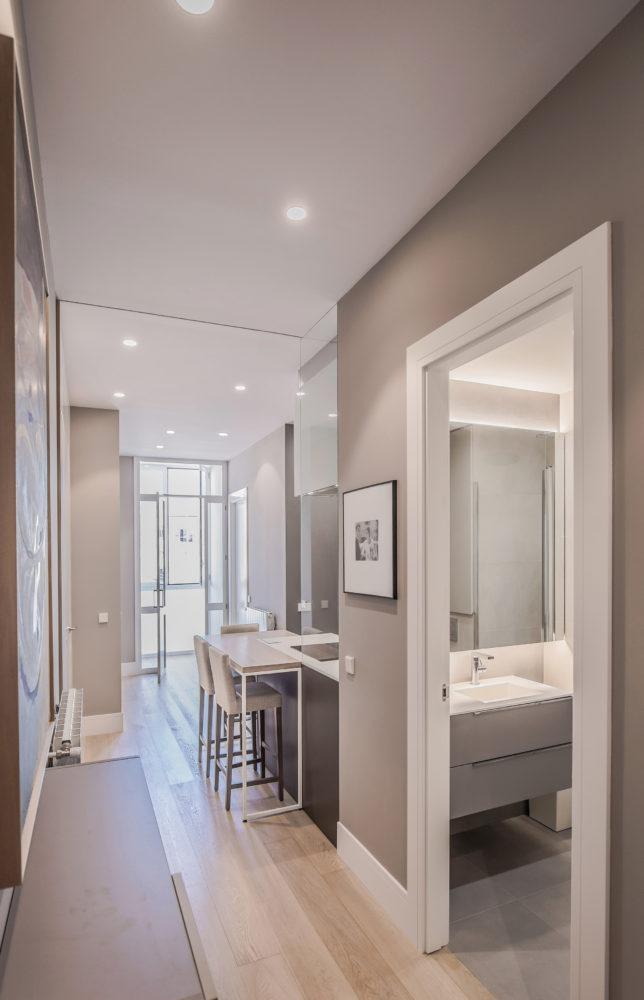 09 mas millet arquitecto arquitectura interiorismo reforma integral moderna piso valencia mobiliario salon cocina