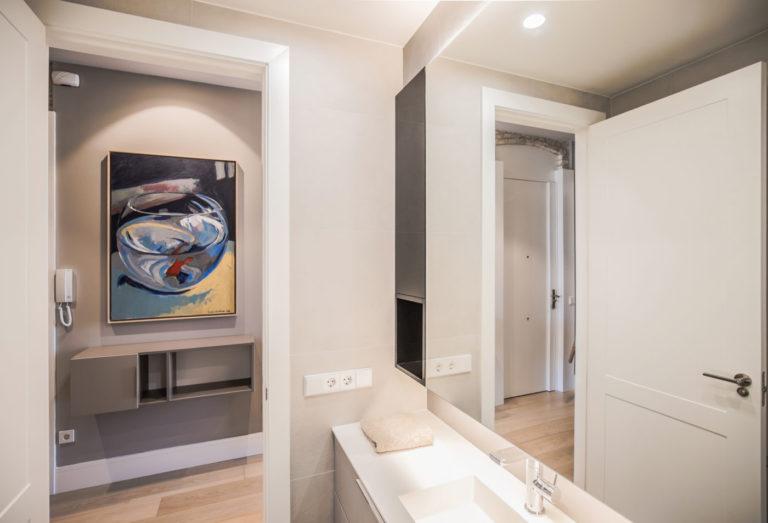 14 mas millet arquitecto arquitectura interiorismo reforma integral moderna piso valencia mobiliario salon cocina