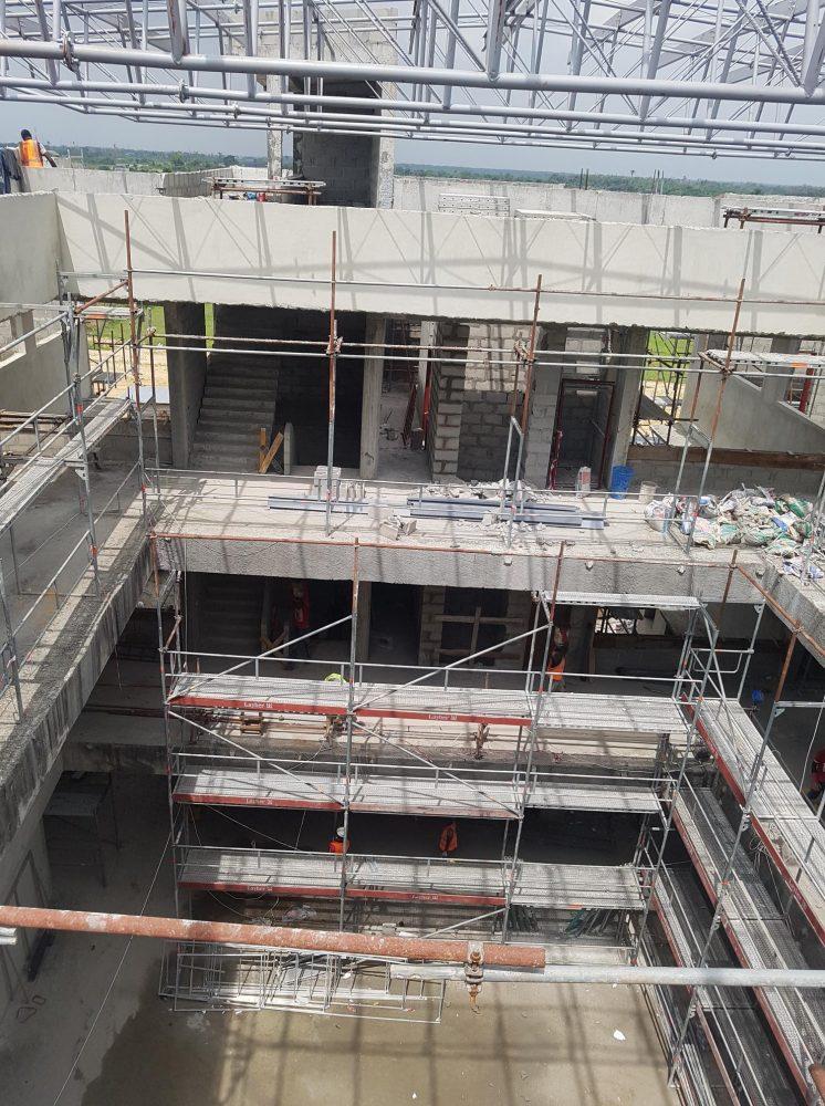 mas millet arquitectura e interiorismo edificio universitario Shool of Science and Tecnology africa nigeria