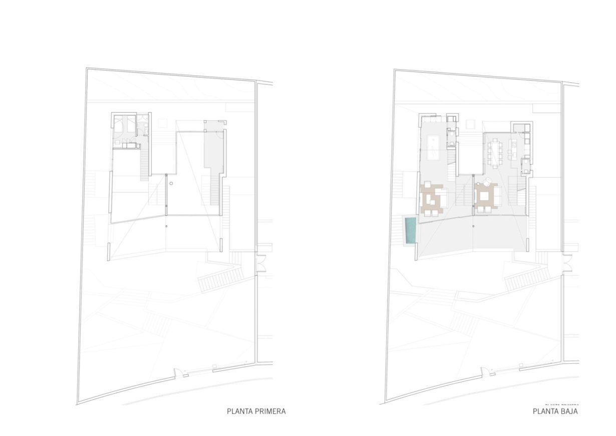 Mas millet arquitectura interiorismo obra nueva chalet vivienda unifamiliar moderna calicanto valencia diseño interior mobiliario arquitecto