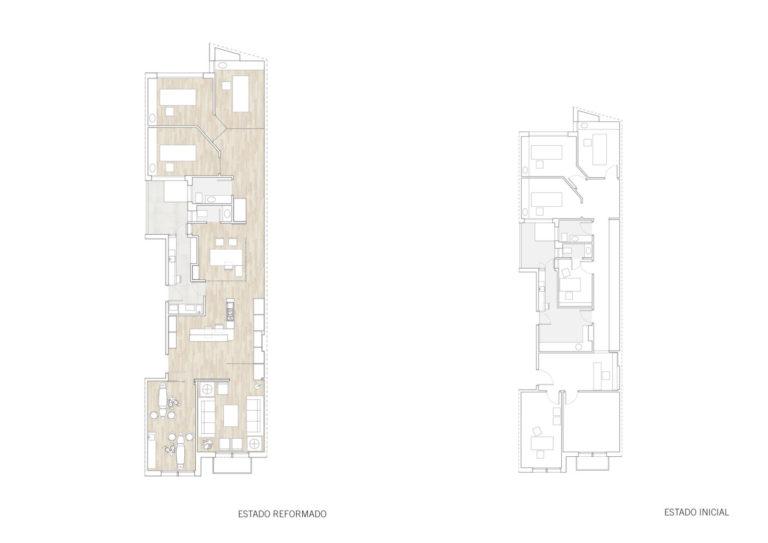 planos plantas mas millet arquitectura interiorismo reforma clínica dental valencia