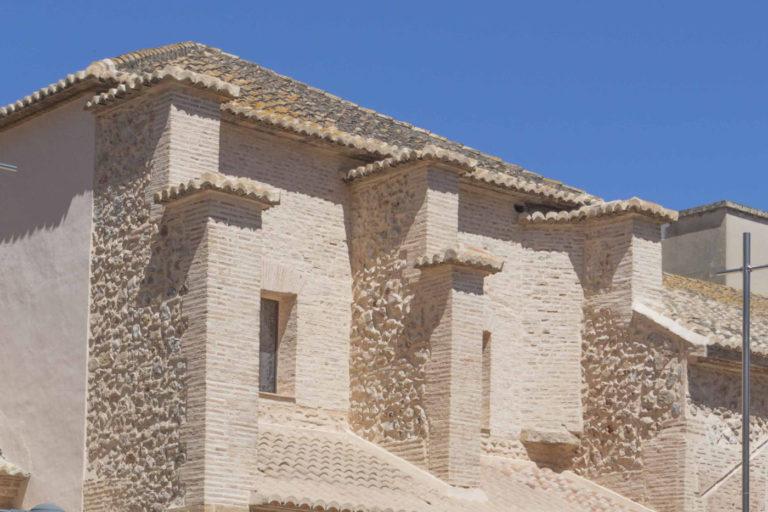 06-mas-millet-arquitectura-interiorismo restauracion-iglesia-san-antonio-rebollet-oliva valencia-fachada-rehabilitacion-teja-ladrillo