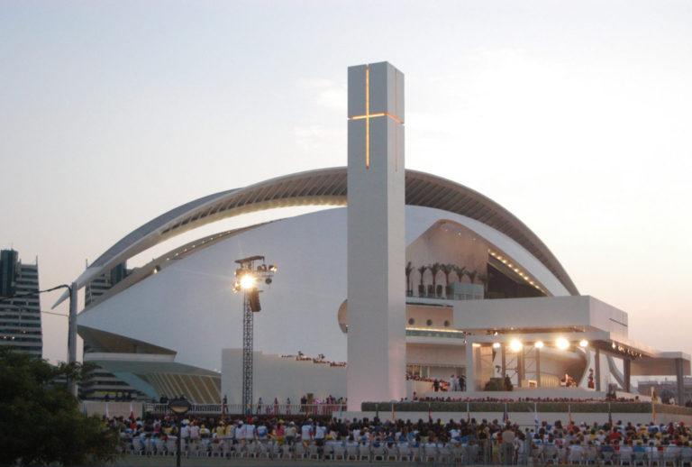 00 mas millet arquitectura interiorismo escenario encuentro mundial familias religioso arquitecto valencia emf