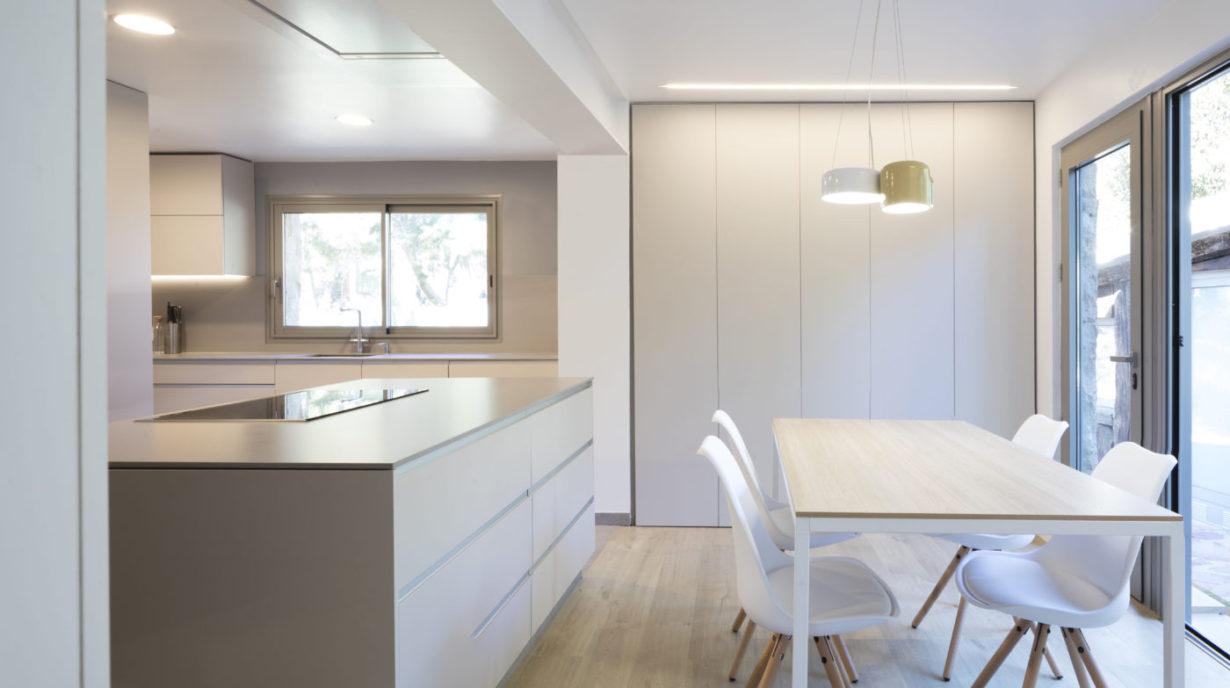 mas millet arquitectura interiorismo obra nueva chalet vivienda unifamiliar moderna santa barbara valencia diseño urbanizacion arquitecto