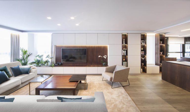 02f mas millet arquitectura interiorismo reforma integral valencia madrid hogar salon comedor diseño actual campanar mueble tv