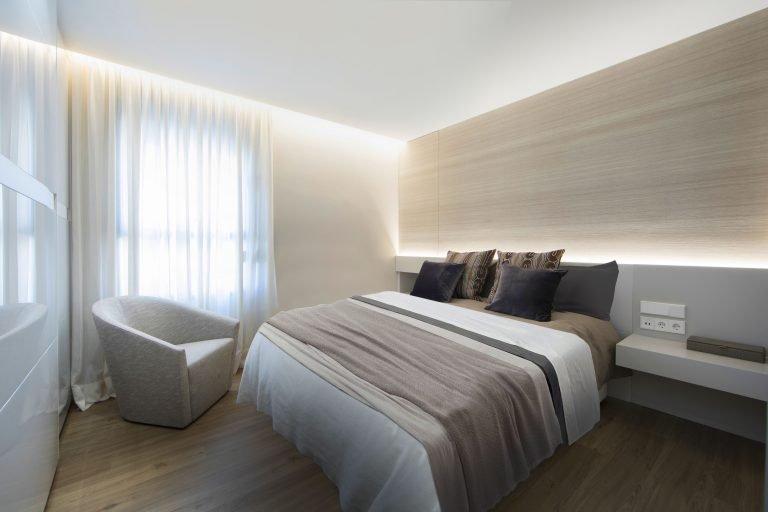 19f mas millet arquitectura interiorismo reforma integral valencia madrid hogar salon comedor diseño actual campanar cama