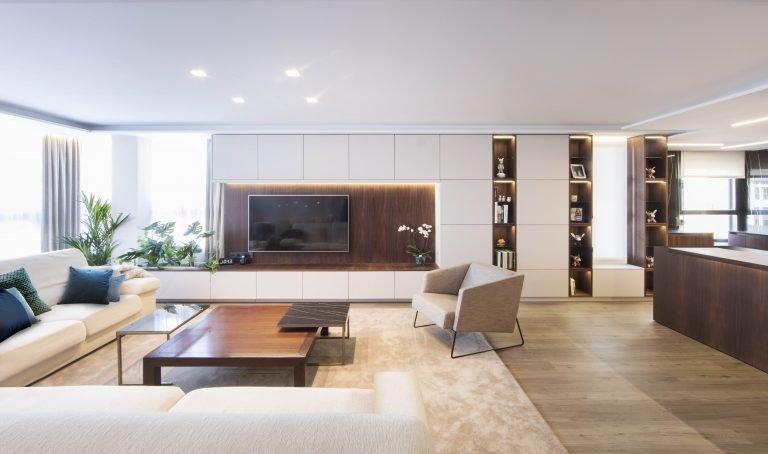 21 mas millet arquitectura interiorismo reforma integral valencia madrid hogar salon comedor diseño actual campanar