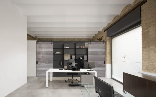 01 mas millet arquitectos arquitectura interiorismo reforma local valencia despacho planta baja luz ladrillo estilo industrial interiorismo lq