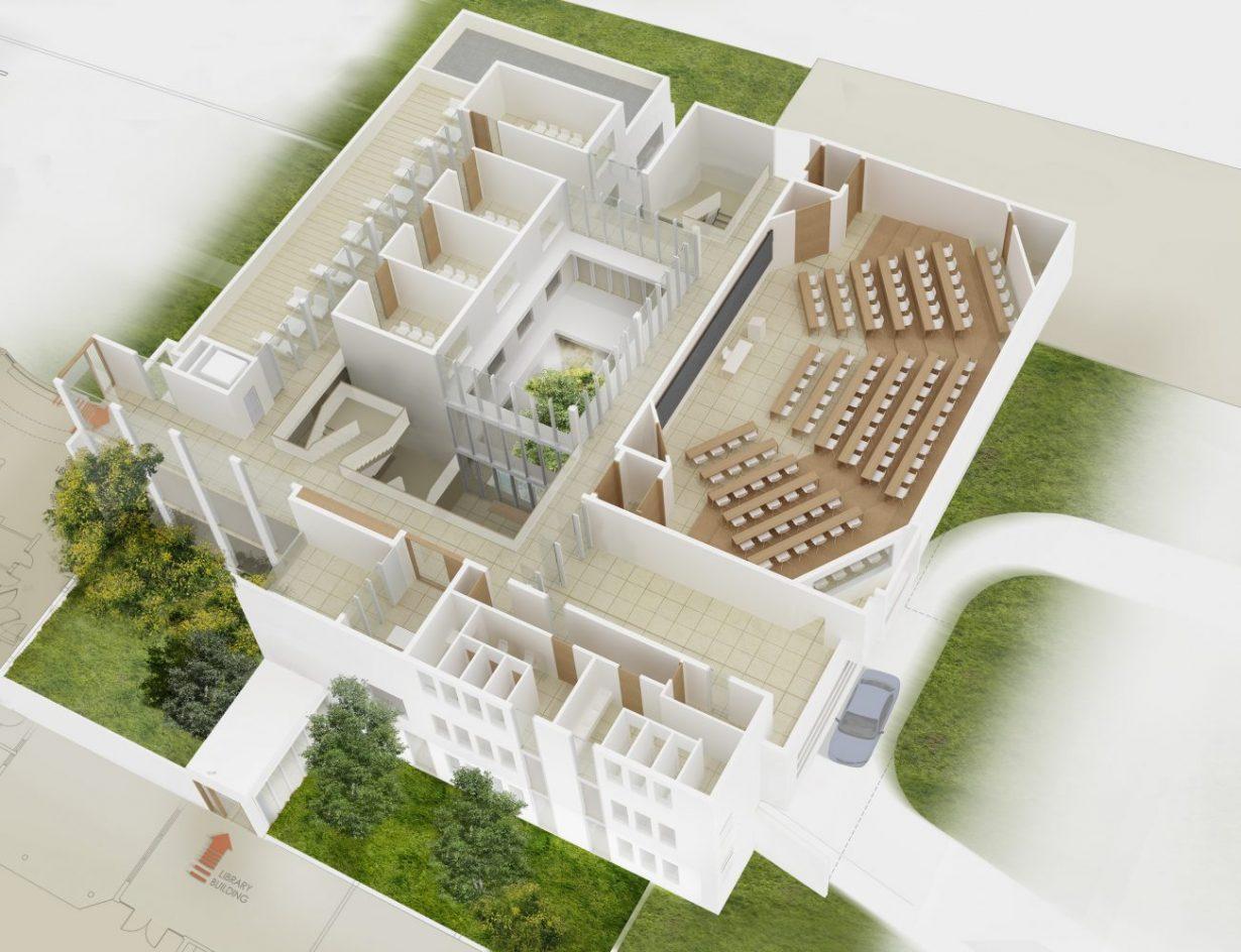 mas millet arquitectura interiorismo edificio universitario africa nigeria imrc