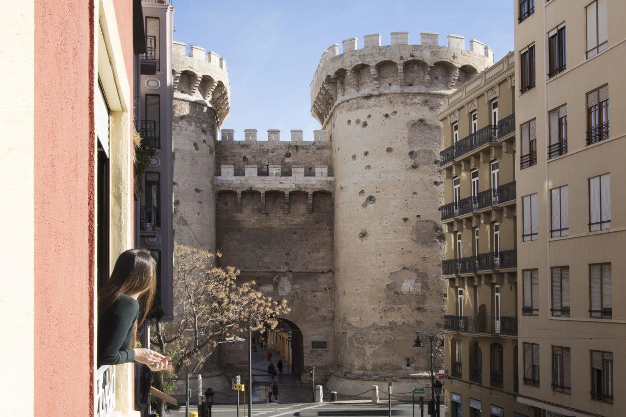 arquitectura interiorismo reforma valencia casa quart vistas torres