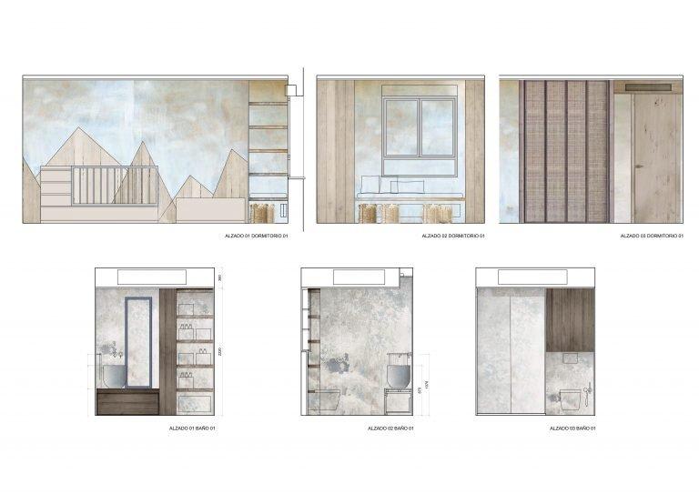 Reforma-casa-en-Patacona-alzados-dormitorio-y-baño