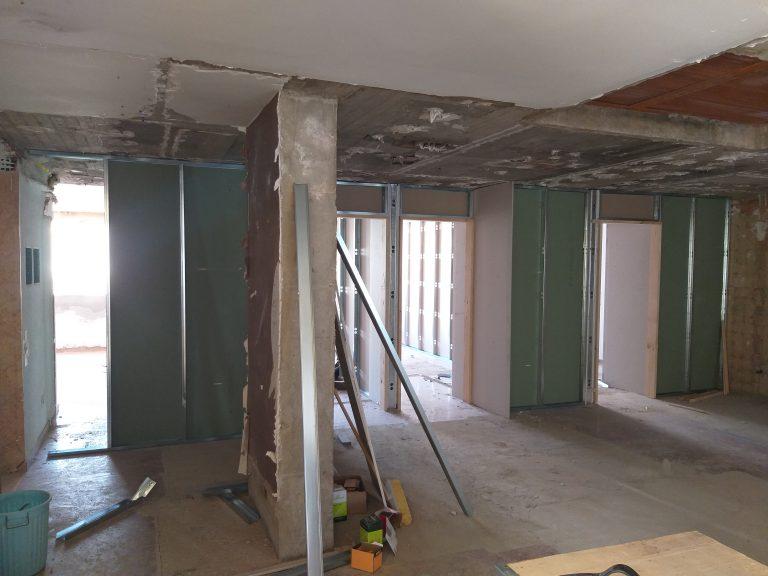 Obras demoliciones Colegio Mayor Saomar 5