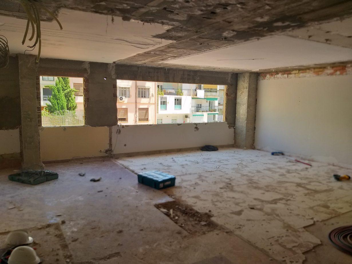 Obras demoliciones Colegio Mayor Saomar 3